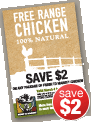 Chiken Coupon