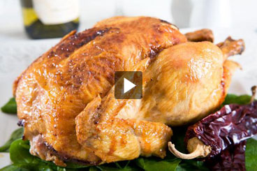 Roast Chicken Smoked Paprika Butter